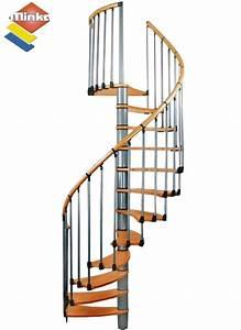 Escalier En Colimaçon Pas Cher : escalier en colima on minka wave en m tal et bois 140 cm ~ Premium-room.com Idées de Décoration