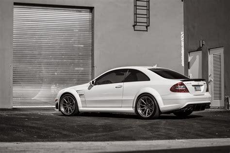 Mercedes-benz Clk63 Amg Black Series On Adv.1 Wheels