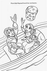 Tangled Coloring Pages Rapunzel Printable Pascal Flynn Maximus Disney Filminspector Gothel sketch template