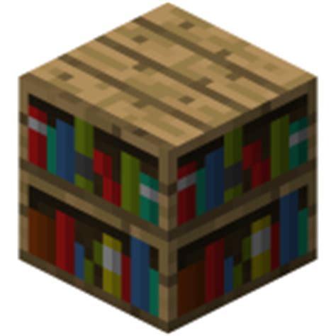 Bookshelf  Official Minecraft Wiki