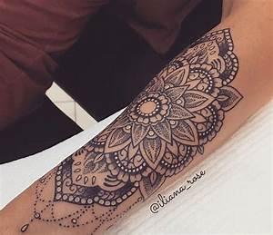 Mandala Tattoo Unterarm : pin by brittany leatherwood on tatspiration tattoos mandala tattoo tattoo designs ~ Frokenaadalensverden.com Haus und Dekorationen