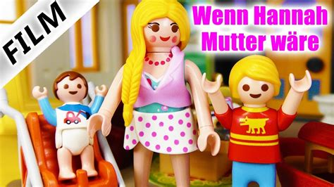 Playmobil Film Deutsch  Wenn Hannah Kinder HÄtte
