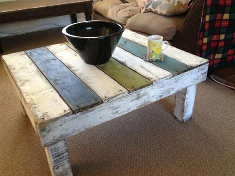table basse en palette facile table basse en palette diy facile et pratique