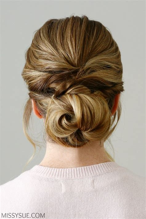 Twisted Knots Hairstyle by Twisted Knot Low Bun Sue