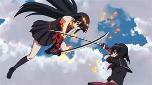 Anime Siblings images Akame fighting Kurome wallpaper and ...