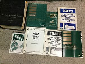 how to download repair manuals 1993 ford ltd crown victoria head up display 1993 ford mustang service shop repair manual set w pced specs tech bulletin ebay