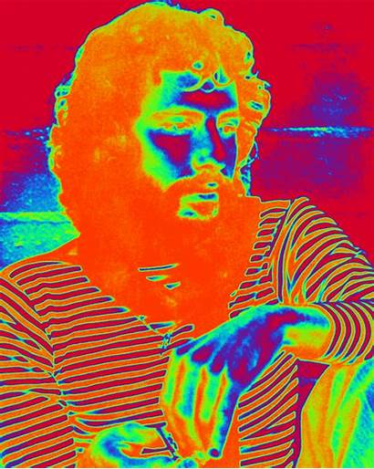 Stevens Cat Trippy Gifs Psychedelic Steve Famous