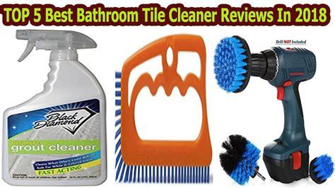 top   bathroom tile cleaner reviews   youtube