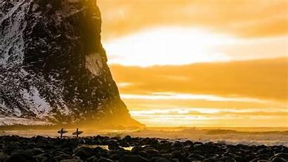 Bing Lofoten Surfing Arctic Chilling Norway Wallpaperhub