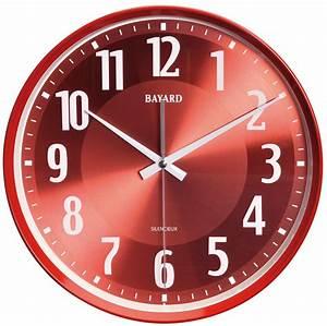 Horloge Murale Rouge : aiguille horloge ~ Teatrodelosmanantiales.com Idées de Décoration