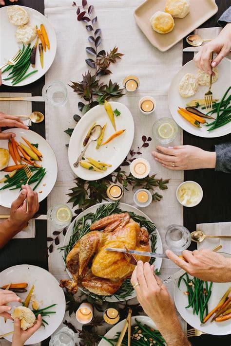 modern thanksgiving dinner camille styles