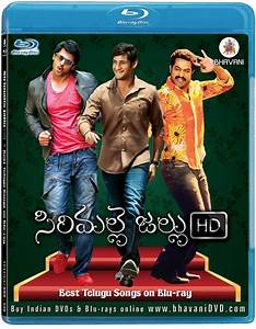 Sirimalle Jallu HD (Telugu Songs Bluray) - Blu-ray Forum