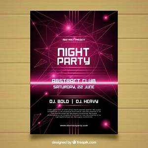 Party Poster Vectors s and PSD files