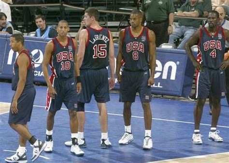 Dream Team De Estados Unidos En El Mundial De 2002