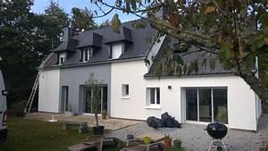 renovation d39une maison a cleguer eveno isolation With maison avant apres renovations exterieures