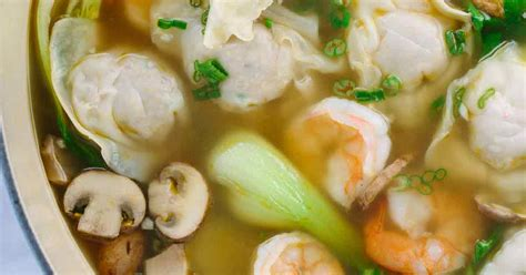 easy homemade wonton soup recipe jessica gavin