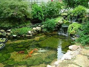 koi ponds dont need to look like black liner pools koi With katzennetz balkon mit aqua garden hauswasserwerk