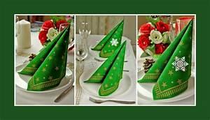 Tischdeko Für Weihnachten Ideen : weihnachtsservietten deko ideen ~ Markanthonyermac.com Haus und Dekorationen