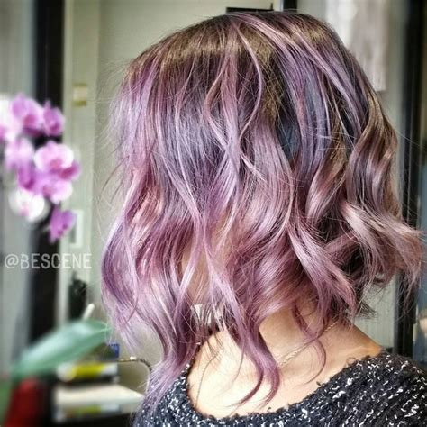 gorgeous pastel purple hairstyles pretty designs