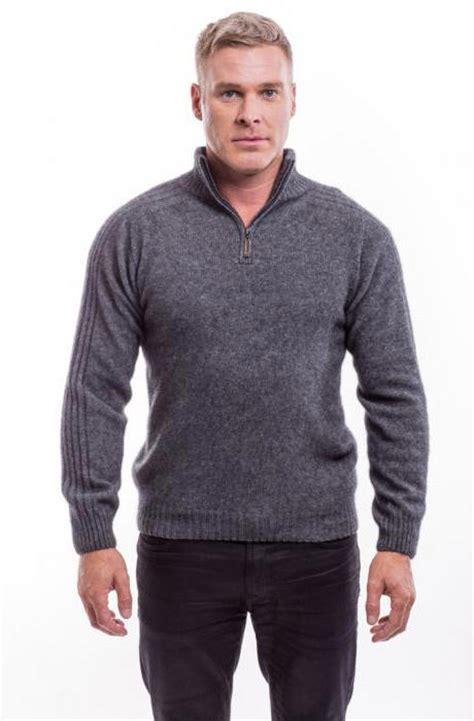 mcdonalds sweater rib sleeve sweater 620 mcdonald textiles nz possum merino