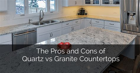 countertops granite countertops quartz countertops pros and cons of quartz vs granite countertops the