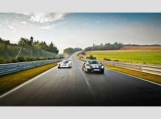 The Porsche 956 And 918 At The Nürburgring Nordschleife