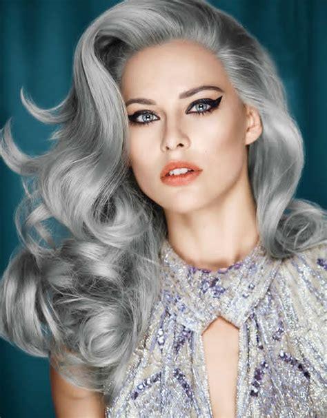 'granny Hair Trend Young Women Dye Their Hair Gray