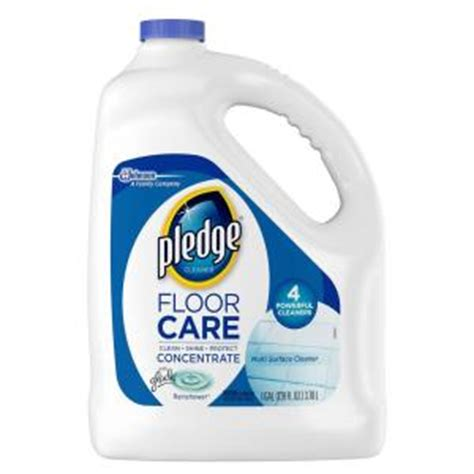 pledge 128 oz multi surface floor cleaner 690990 the home depot