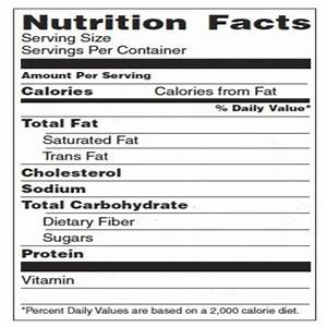 blank nutrition label template word free download With free nutrition label maker