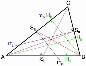 Geraden Schnittpunkt Berechnen : ausgezeichnete punkte im dreieck ~ Themetempest.com Abrechnung