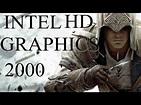 Intel HD Graphics 2000: Assassins Creed 3 - YouTube