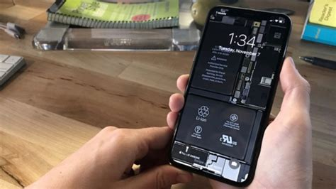Ifixit's Internal Iphone X Wallpapers Are Made More Fun With Bezel-less Design Iphone 6s 16gb Silver Grey 64gb Refurbished 5 Freezes When Unlocking Plus Back Restoring Your From Itunes Space New Skin Beli