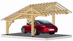 Charpente Traditionnelle Bois En Kit : abri voiture charpente traditionnelle en kit garage ~ Premium-room.com Idées de Décoration