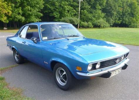 1973 Opel Manta by 1973 Opel Manta Blue Max Edition Bring A Trailer