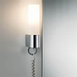 Steckdosen Für Badezimmer : led badezimmer wandleuchte elektra mit steckdose wohnlicht ~ Lizthompson.info Haus und Dekorationen