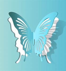 best photos of 3d butterfly cut out template 3d paper With butterfly paper cut out template