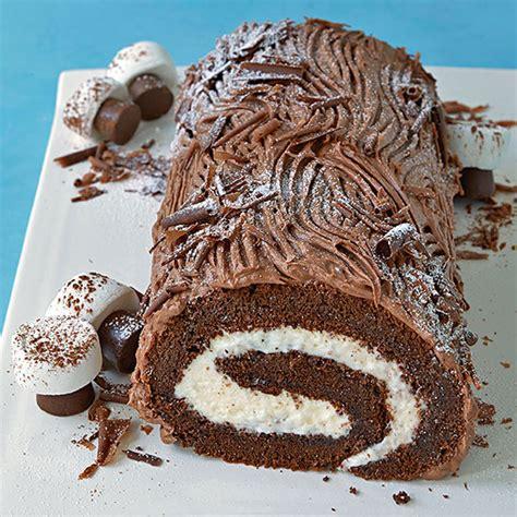 yule log cake recipe yule logs recipes dishmaps
