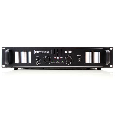 power audio evolution audio ev1000 power lifier