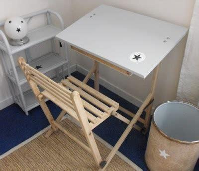 petit bureau pliable comptoir ivoire comptoir kid
