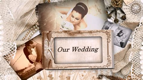 """vintage Wedding Album"""