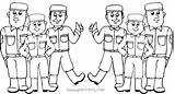 Coloring Pages Swat Soldier Army Easy Sheet Very Team Colouring Printable Getdrawings Ecolorings Info Getcolorings sketch template