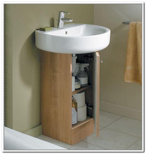 bathroom sink storage ideas sink storage for pedestal sinks home design ideas