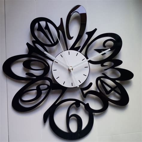 Decorative Living Room Wall Clocks by Large Decorative Wall Clocks Benefit