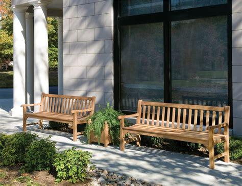 oxford garden essex curved shorea outdoor teak bench