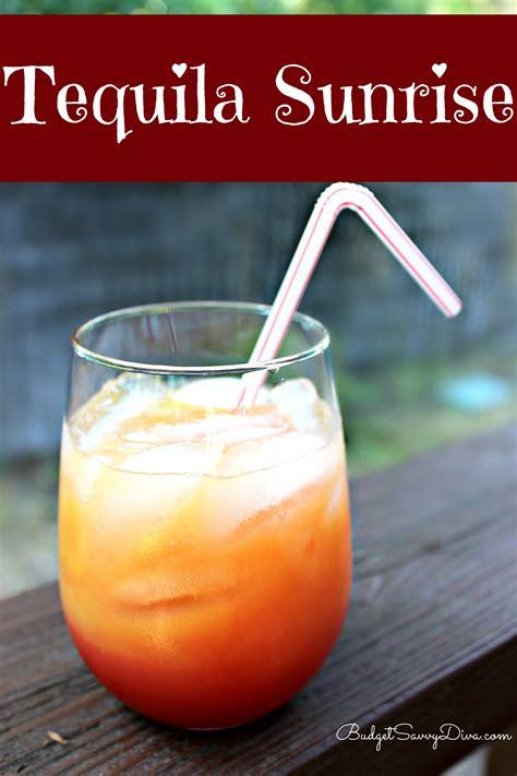 tequila sunrise cocktail recipe budget savvy