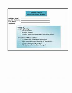 Business Development Agreement Template Form 9 Employee Training Contract Agreement Template
