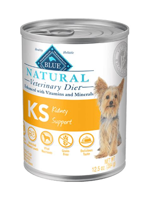 kidney support dog food blue natural veterinary diet ks