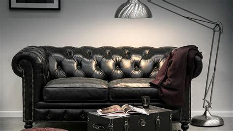 vente privée canapé cuir canapé chesterfield ventes privées westwing