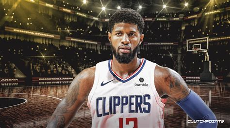 clippers news paul george admits     warriors