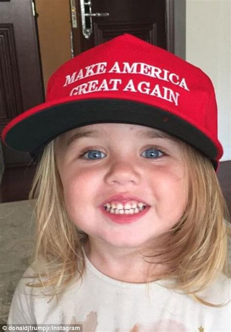 donald trump chloe again jr hat america daughter vanessa he president kai election ballot polls casting took wife three children